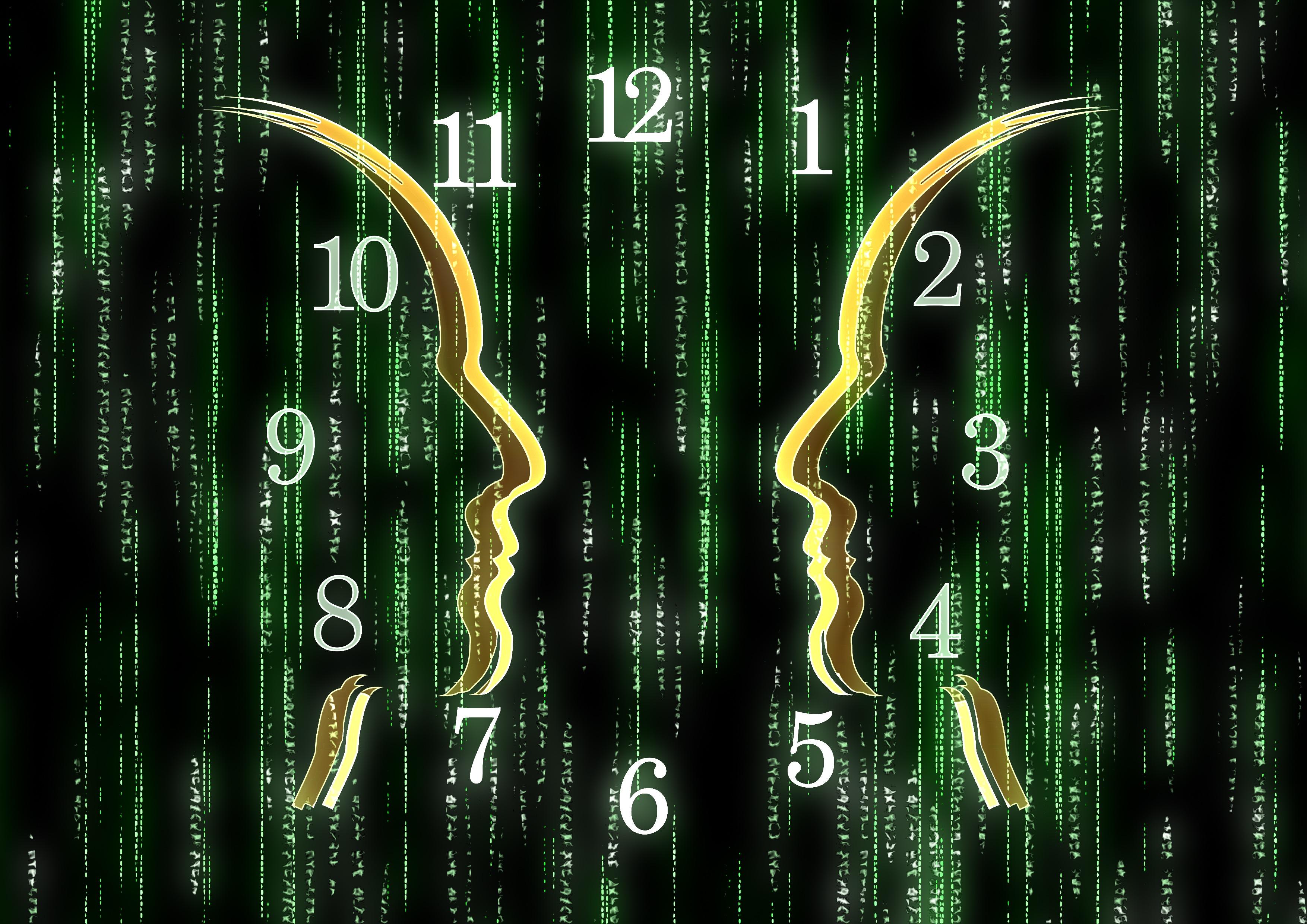 matrix_face_silhouette